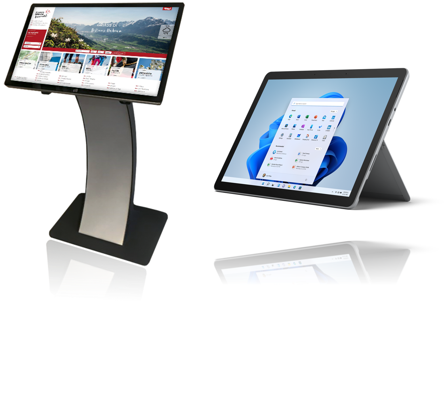 Infopoint plus Surface